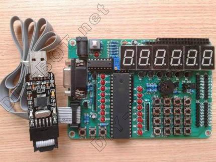 [硬件创新教程]认识at89s52单片机开发板